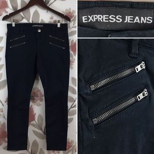 EXPRESS Ankle Legging Low Rise CROP Skinny Jean